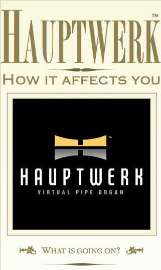 Hauptwerk and You